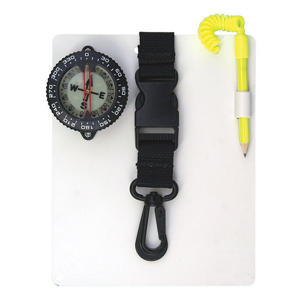 Trident Diving Equipment Compass Slate with Quick Release 15722424