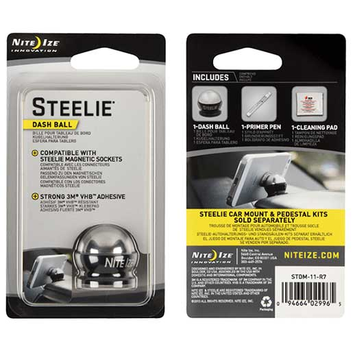 Steelie Dash Ball Replacement Part for Car Mount Kit