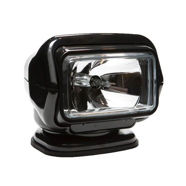 Stryker™ Halogen Searchlight with Wireless Handheld and Wireless Dash Mount Remotes, Black