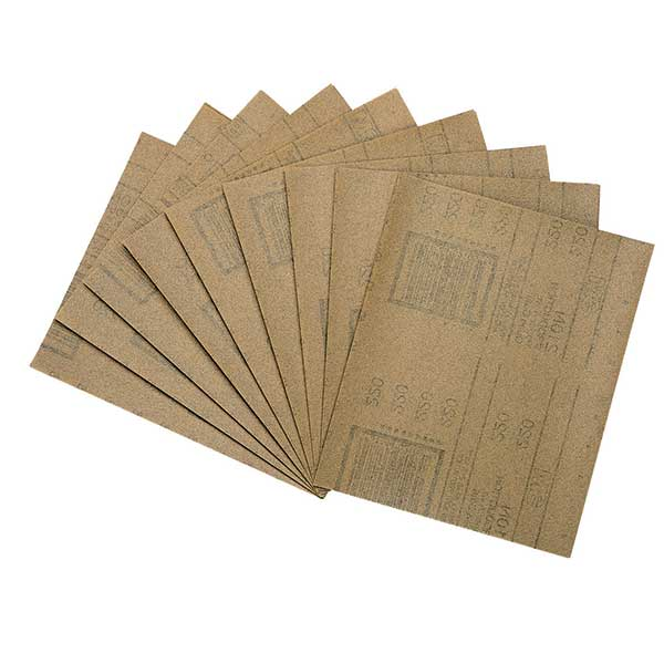 Brown Production Sandpaper, Individual Sheets