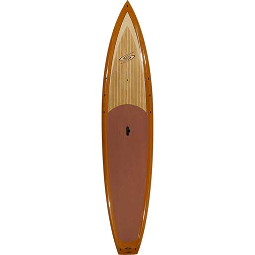 "12'6"" Flowmaster Craft Wood Stand-Up Paddleboard"
