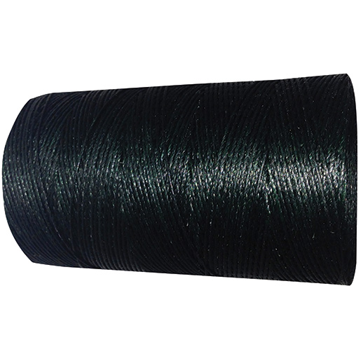 No. 4 Waxed Whipping Twine, Black