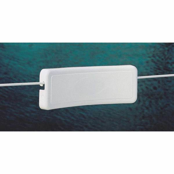 Lifeline Backrest, White Plastic