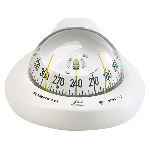 Olympic 115 Compass—White Case with White Conical Card
