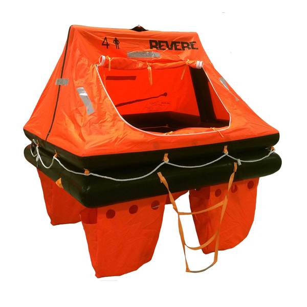 Offshore Commander 2.0 Life Raft 4-Person Container