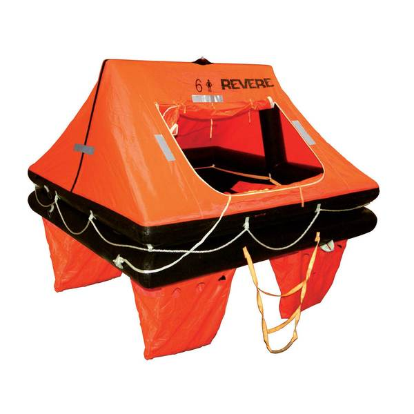 Offshore Commander 2.0 Life Raft 6-Person Container