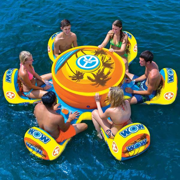 Wow Sports Octo Island Floating Table West Marine