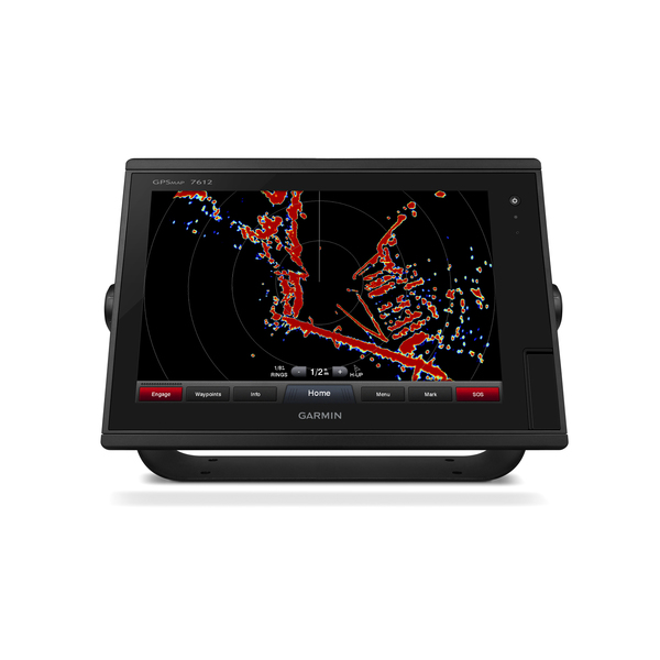 GARMIN GPSMAPR 7612 Multifunction Display With US Inland And Coastal Charts