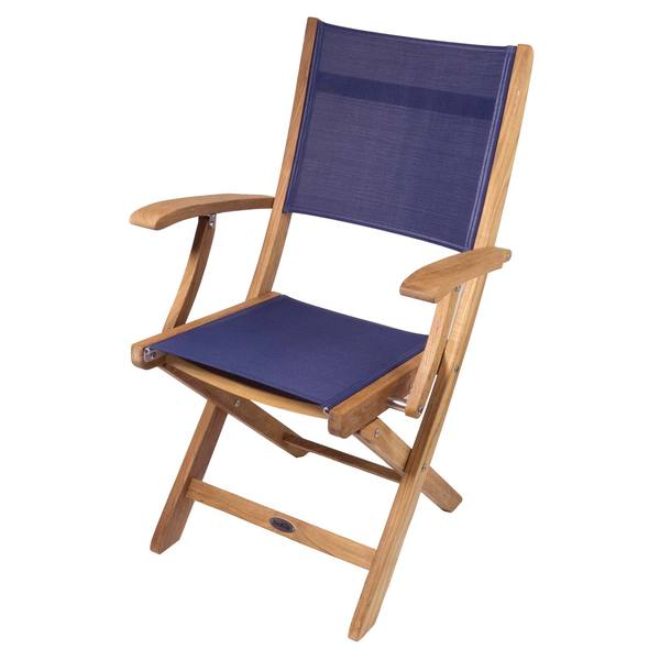 Bimini Teak Folding Deck Chair