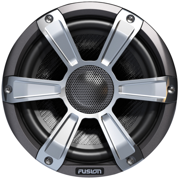 """Image of Fusion Entertainment SG-FL77SPC 280W Coaxial Sports Marine Speaker with LED, Chrome, 7.7"""""""