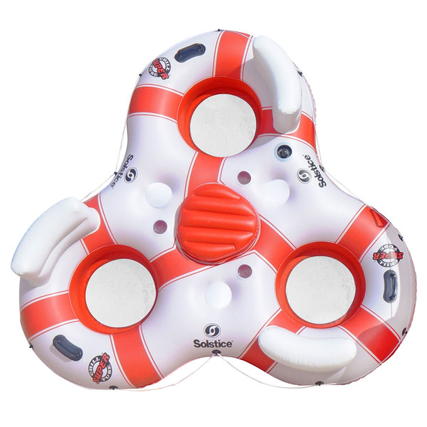 Solstice Super Chill 3 Person Inflatable Floating Island
