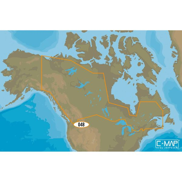 Lakes Of Canada Map.Na D048 Canada Lakes C Map 4d Chart Microsd Sd Card