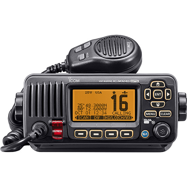 Click here for Icom M324G Fixed-Mount VHF Radio with GPS Receiver... prices