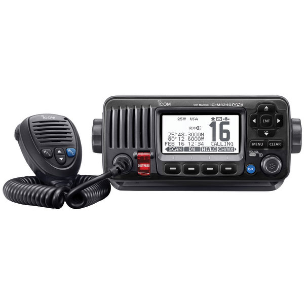 Click here for Icom M424G Fixed-Mount VHF Radio with GPS Receiver... prices