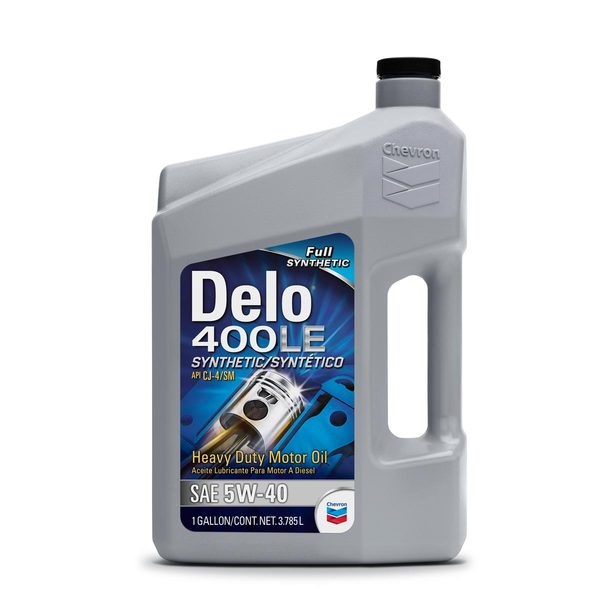 Chevron Delo 400le Synthetic Engine Oil Sae 5w 40 1