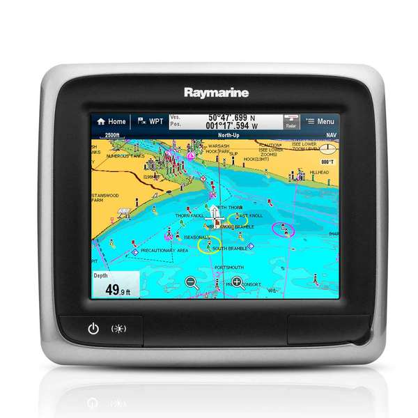 Raymarine A65 Multi Function Touchscreen Display With Wi Fi And Us C Map Essentials Charts 16497836 on marine radar screen