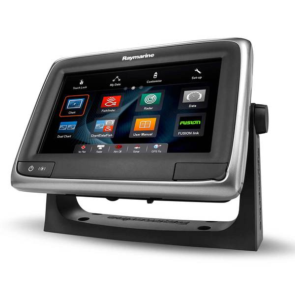 Raymarine A75 Multi Function Touchscreen Display With Wi Fi And Us C - Us-c-map-essentials