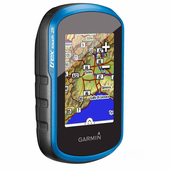 eTrex® Touch 25 Handheld GPS with World Basemap