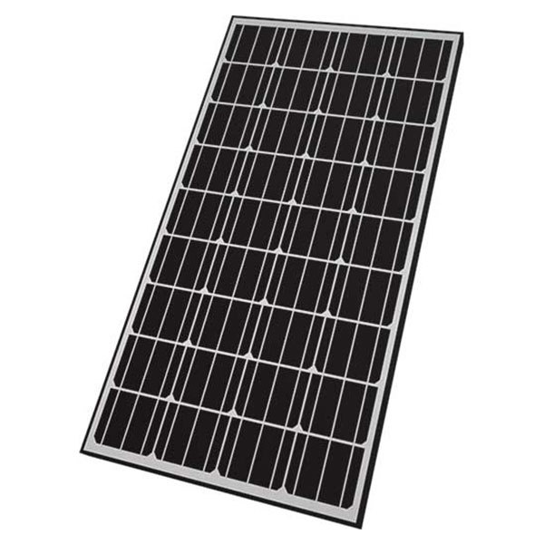 Nature Power 165W Rigid Monocrystalline Solar Panel
