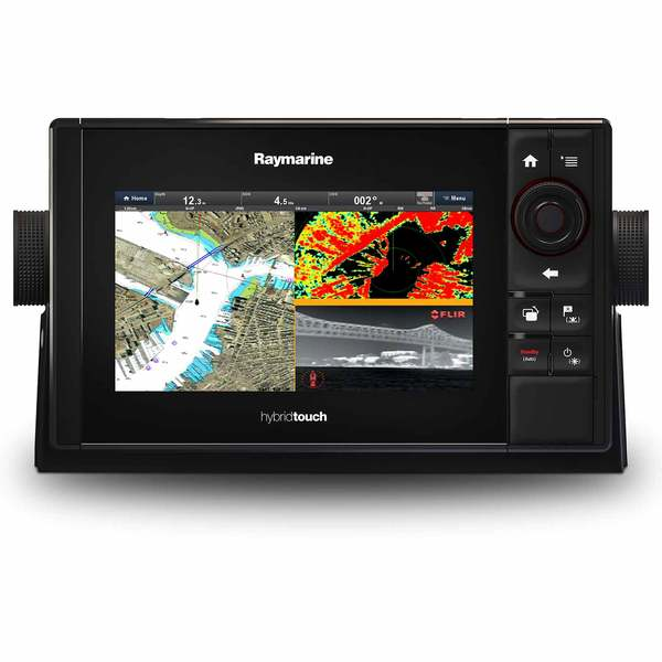 Raymarine Es75 Multifunction Display With Wifi And Us C Map - Us-c-map-essentials