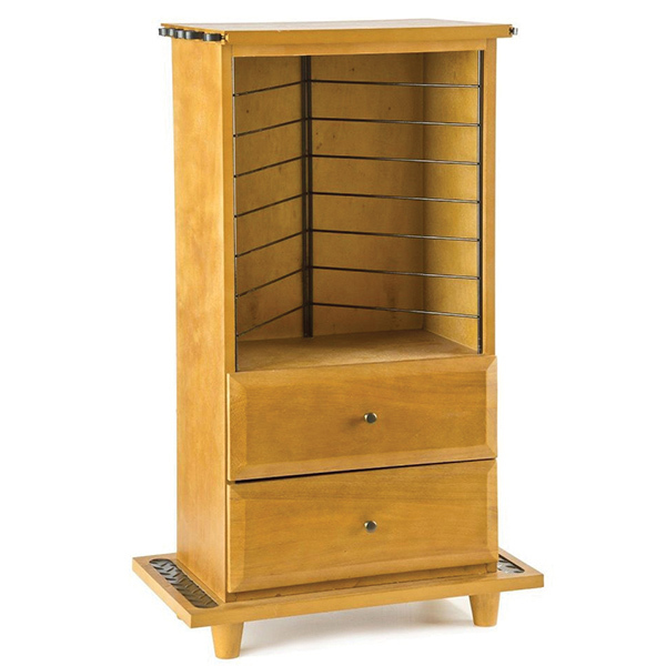 Marine Kitchen Cabinets: ORGANIZED FISHING Open Top Two Drawer Cabinet