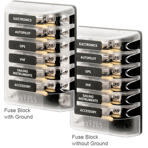 blue sea systems agc fuse block systems west marine marine gas cap agc fuse block systems