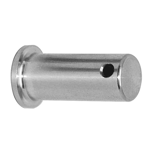 "Stainless Steel Clevis Pin, 3/8"" Dia. X 1/2"" Grip Length"