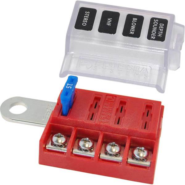 blue sea systems st blade battery terminal mount fuse
