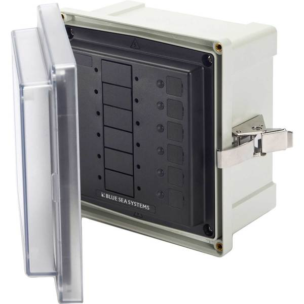 SMS Surface-Mount System Panel Enclosure, 6-Circuit Blank