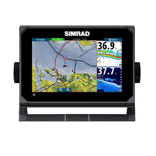 GO7 XSE Fishfinder/Chartplotter Navigation Display with TotalScan™ Transducer and Insight Charts