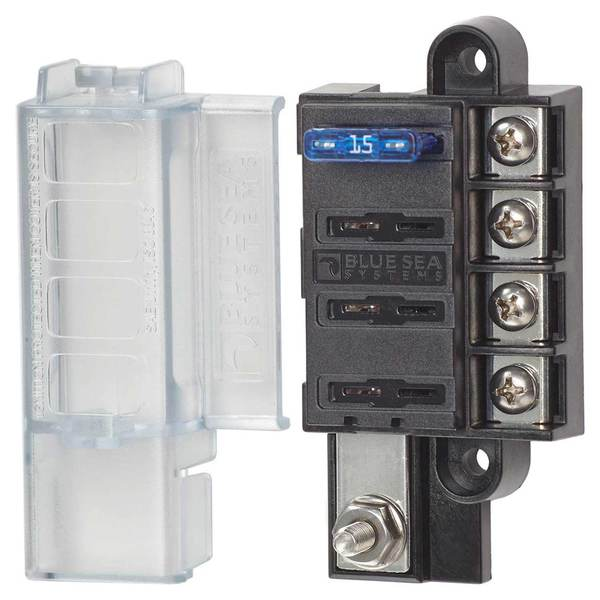 blue sea systems st blade compact 4 circuit fuse block west marine rh westmarine com