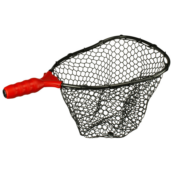 Ego small rubber landing net head west marine for Rubber fishing nets