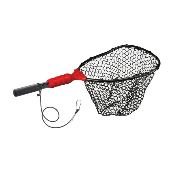 Ego small wading rubber landing net west marine for Rubber fishing nets