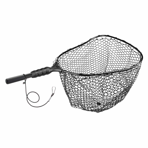 Ego large wading rubber landing net west marine for Rubber fishing nets