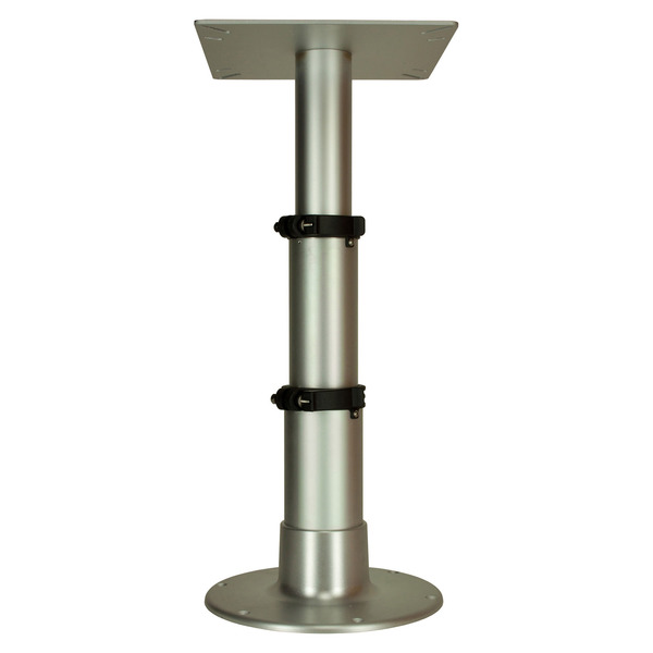 "12"" - 28"" Anodized Air-Powered 3-Stage Table Pedestal"