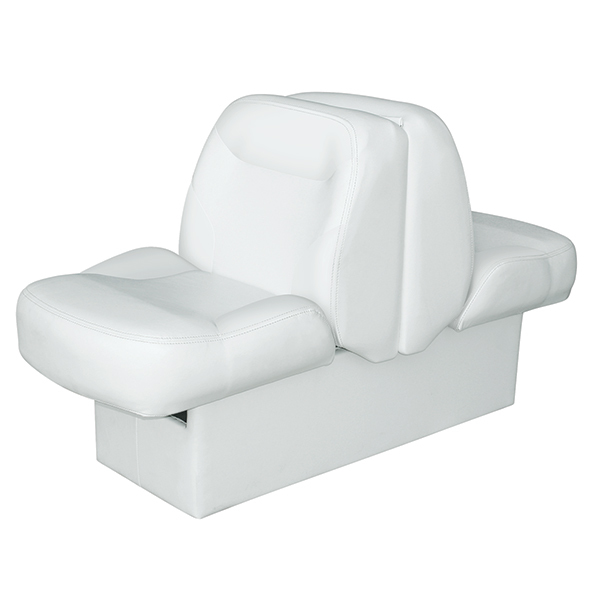 "10"" Base Lounge with Z-Bar, White"