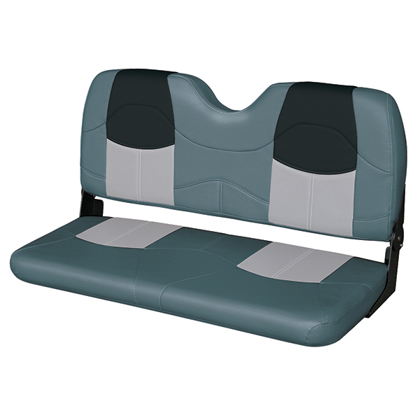 "42"" Bench Seat, Charcoal/Gray/Black"