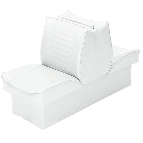"8"" Base Lounge Seat, White"