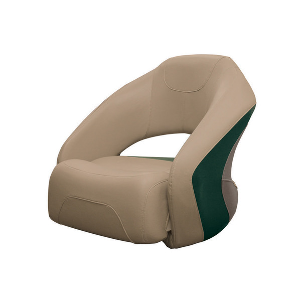 Bucket Seat with Flip-up Bolster