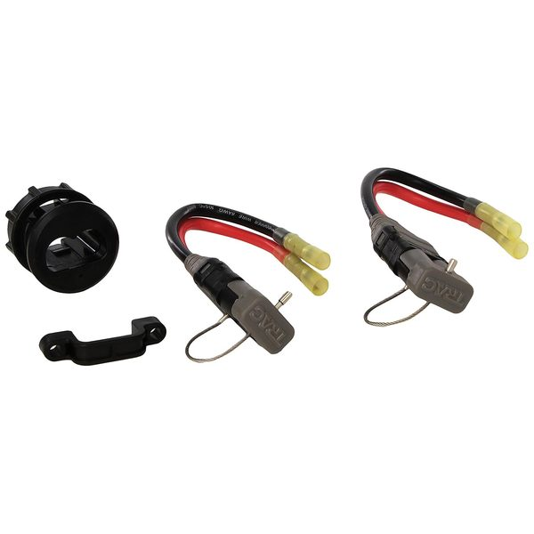 trac outdoor products 8 gauge trolling motor connector kit west marine