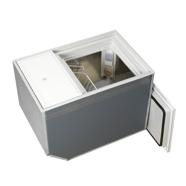 BI-53 Built-In Deep Freezer/Refrigerator, Stainless Steel Interior, DC Only, Air-Cooled, Remote Compressor