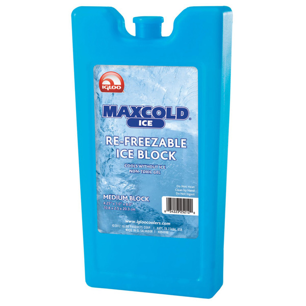 Maxcold Ice Re-Freezable Ice Block