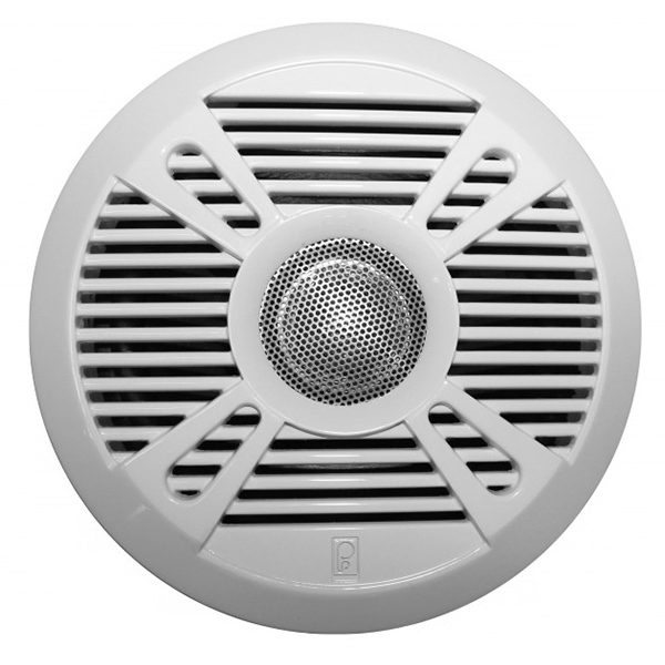"MA7050 5"" Premium Round Marine Speaker with 2 Grilles"