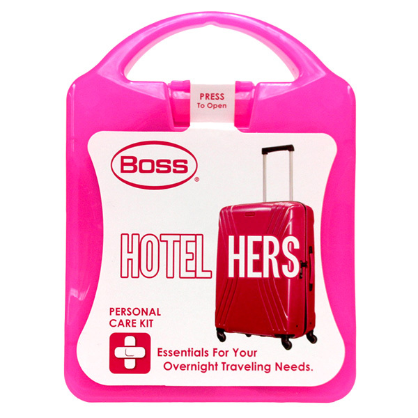 Hotel Hers Overnight Personal Care Kit