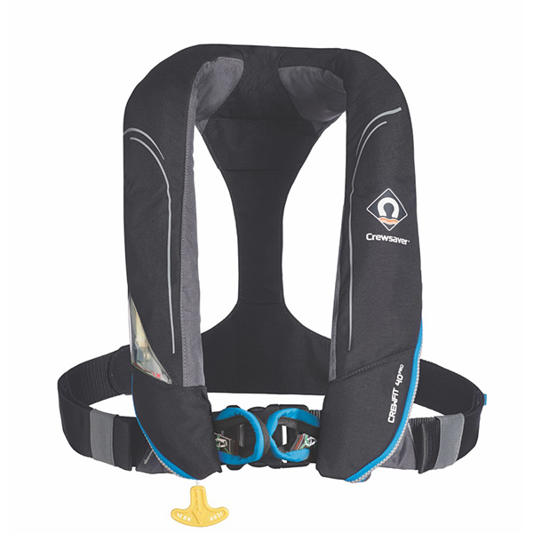 Crewfit 40 Pro Automatic Inflatable Life Jacket with Harness