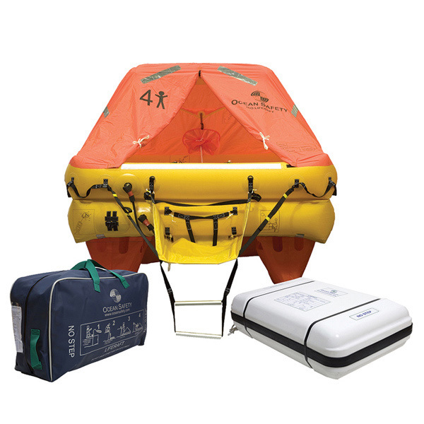Ocean ISO 4-Person Life Raft Canister