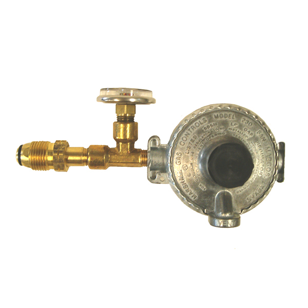 Tank-Mount, Single-Stage LPG Regulator