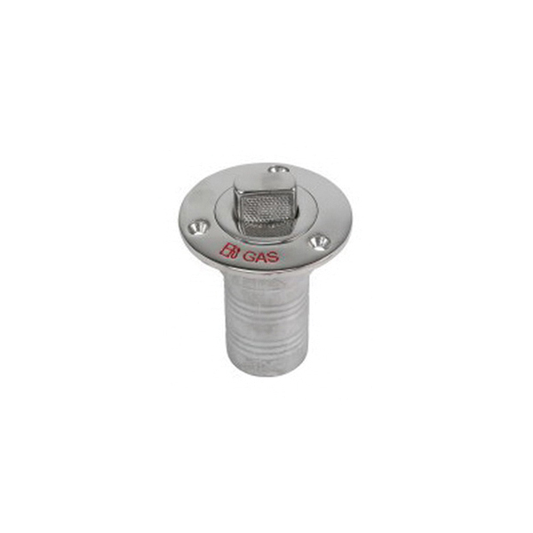 Stainless Steel Deck Fill for Gas Hose, 2""