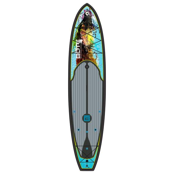 Bote 10 39 6 hd bugslinger stand up paddleboard west marine for Bote paddle board with motor