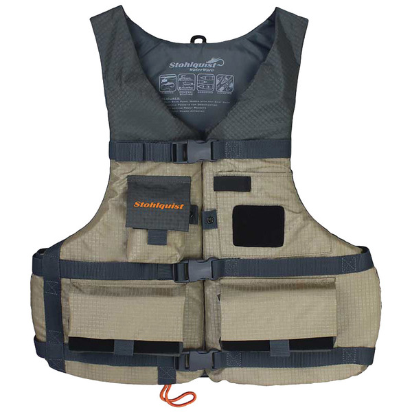 "Spinner Fishing Life Jacket, Universal, 30""–52"" chest"
